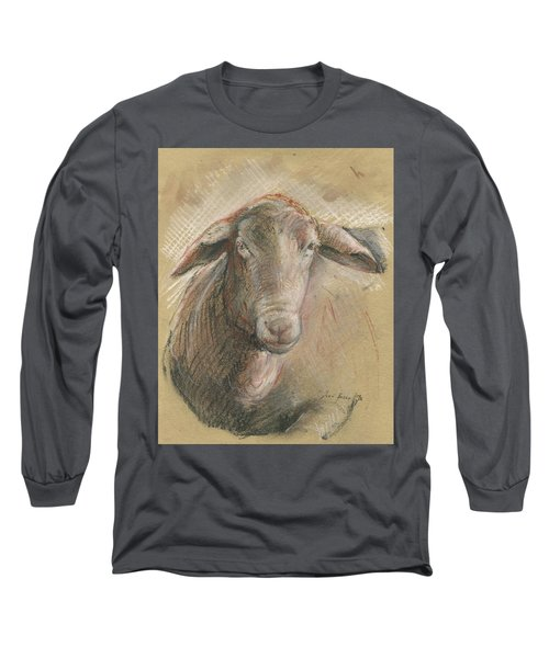 Sheep Head Long Sleeve T-Shirt