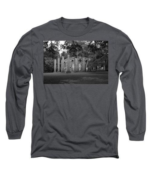 Sheldon Church 4 Bw Long Sleeve T-Shirt