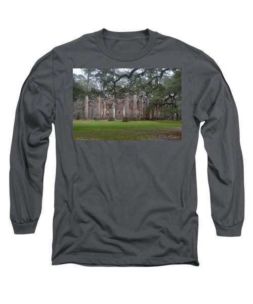 Sheldon Church 6 Long Sleeve T-Shirt by Gordon Mooneyhan