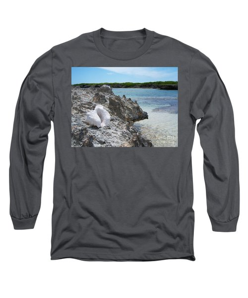 Shell On Dominican Shore Long Sleeve T-Shirt