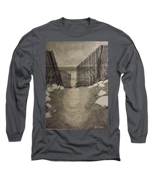 Shell Path Long Sleeve T-Shirt