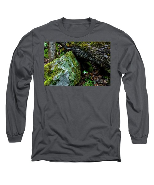Sheltered By The Rock Long Sleeve T-Shirt