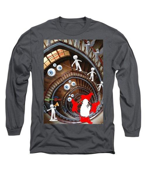Sherlocks Labyrinth Long Sleeve T-Shirt