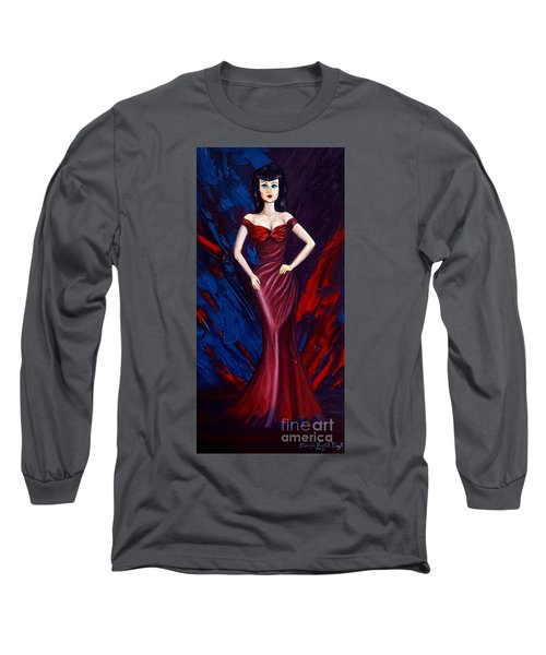 She's A Bit Of A Vamp Long Sleeve T-Shirt