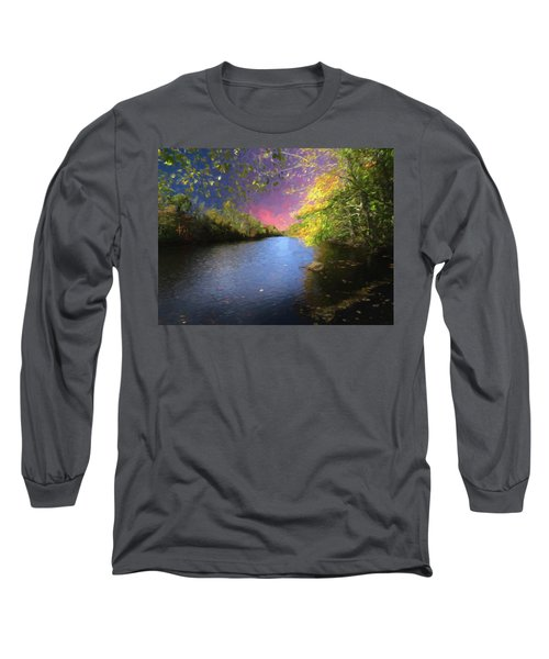 Shetucket River Ct. Long Sleeve T-Shirt