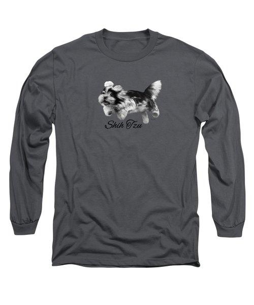 Shih Tzu Long Sleeve T-Shirt by Ann Lauwers