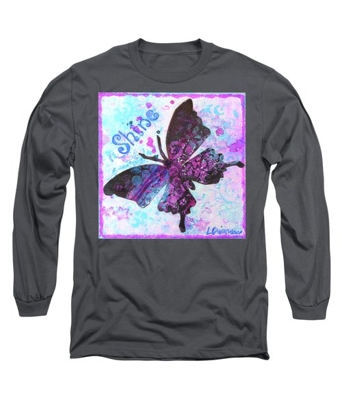 Shine Butterfly Long Sleeve T-Shirt