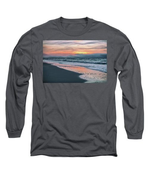 Long Sleeve T-Shirt featuring the photograph Shine On Me Beach Sunrise  by John McGraw