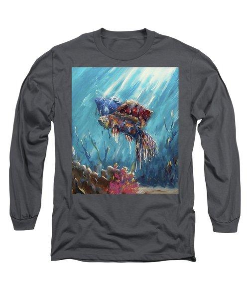 Shine Trough The Ocean Long Sleeve T-Shirt