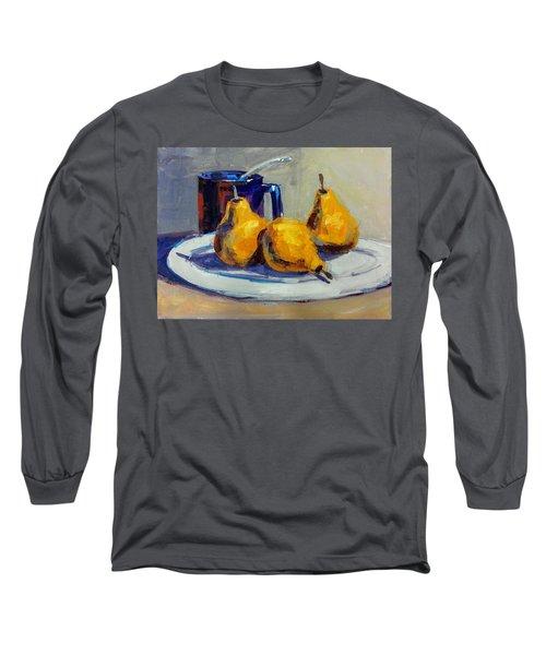 Shiney Blue Mug Long Sleeve T-Shirt