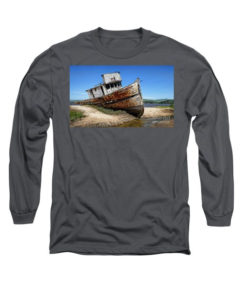 Long Sleeve T-Shirt featuring the digital art Shipwreck by Jason Abando