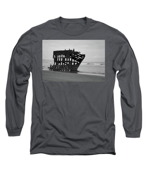 Shipwreck On The Shore Long Sleeve T-Shirt