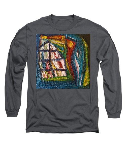 Shipwrecked Long Sleeve T-Shirt by Darrell Black