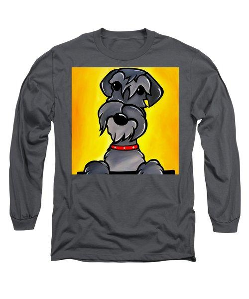 Shnoz Long Sleeve T-Shirt by Tom Fedro - Fidostudio