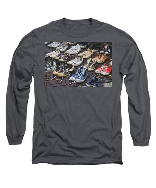 Shoes At A Flea Market Long Sleeve T-Shirt