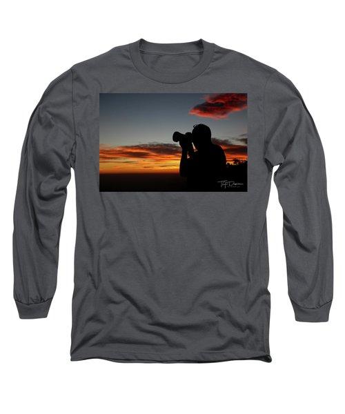 Shoot The Burning Sky Long Sleeve T-Shirt