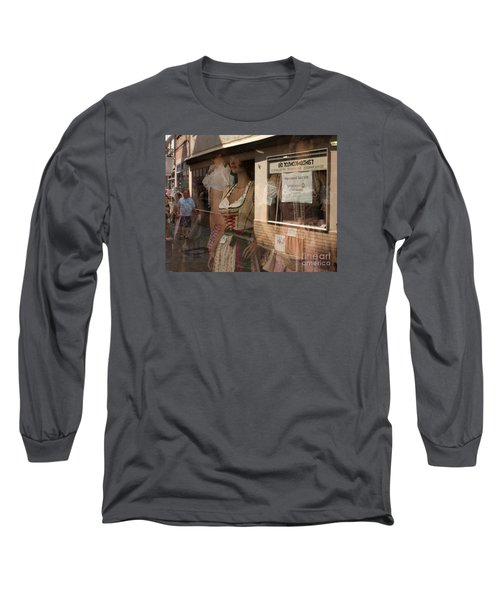 Shop Window Reflection Long Sleeve T-Shirt