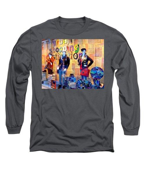 Shopping In Pisa Long Sleeve T-Shirt
