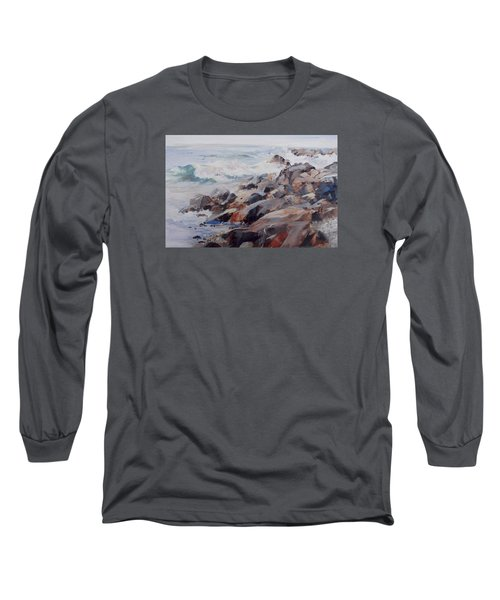 Shore's Rocky Long Sleeve T-Shirt by P Anthony Visco