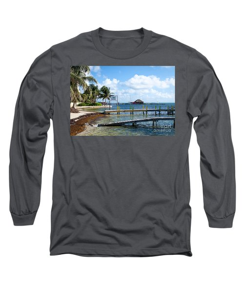 Long Sleeve T-Shirt featuring the photograph Shoreline by Lawrence Burry