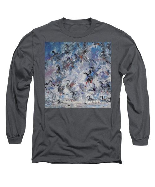 Shots Fired Long Sleeve T-Shirt by Ellen Anthony