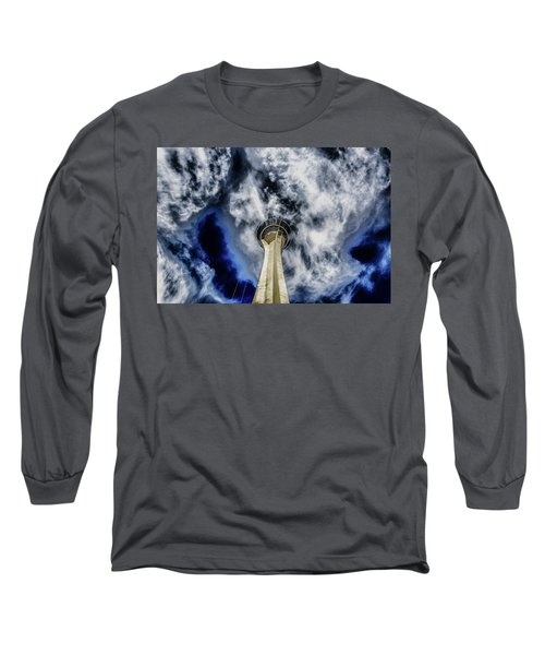 Long Sleeve T-Shirt featuring the photograph Shout by Michael Rogers