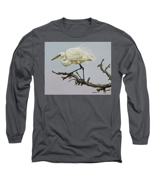 Show Off Long Sleeve T-Shirt by Phyllis Beiser