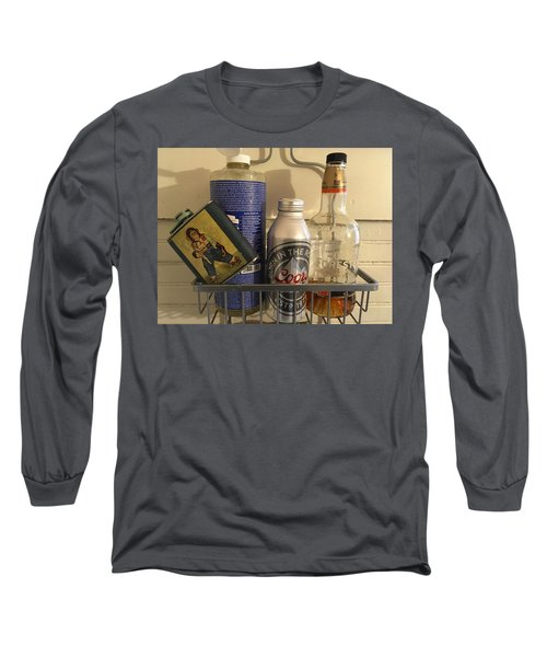 Shower Caddy 2 Long Sleeve T-Shirt by Josh Williams