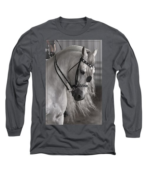 Showtime Long Sleeve T-Shirt by Wes and Dotty Weber