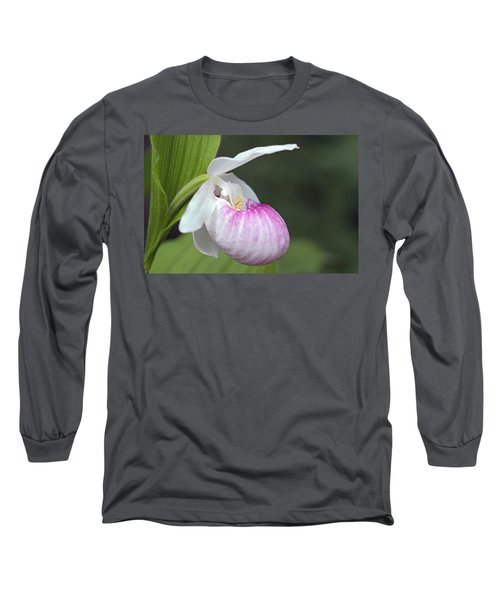 Showy Ladyslipper Long Sleeve T-Shirt