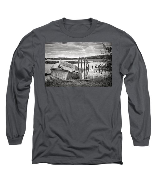 Shrimp Boat Graveyard Long Sleeve T-Shirt
