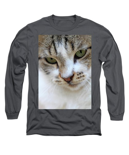 Long Sleeve T-Shirt featuring the photograph Shyness by Munir Alawi
