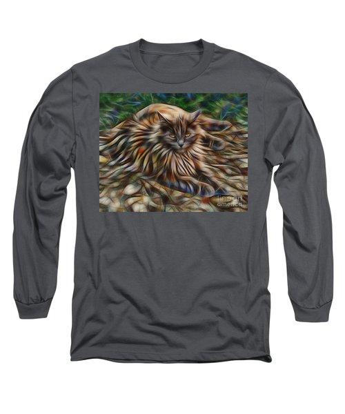 Siberian Attitude Long Sleeve T-Shirt by John Robert Beck
