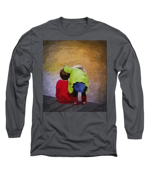 Sibling Love Long Sleeve T-Shirt by Brian Wallace
