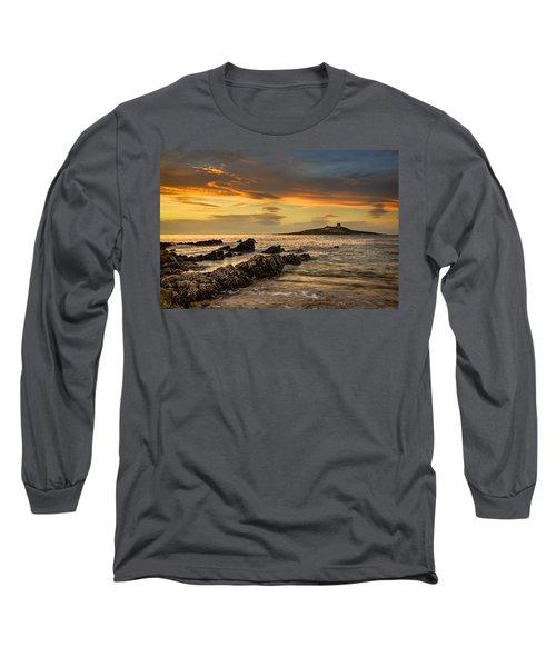 Sicilian Sunset Isola Delle Femmine Long Sleeve T-Shirt