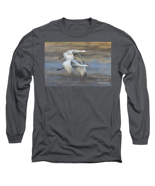 Side By Side Long Sleeve T-Shirt by Bryan Keil