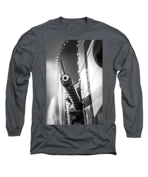 Side Gunner B-25 Long Sleeve T-Shirt