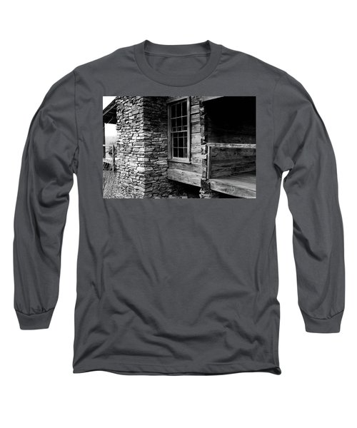 Side View Long Sleeve T-Shirt
