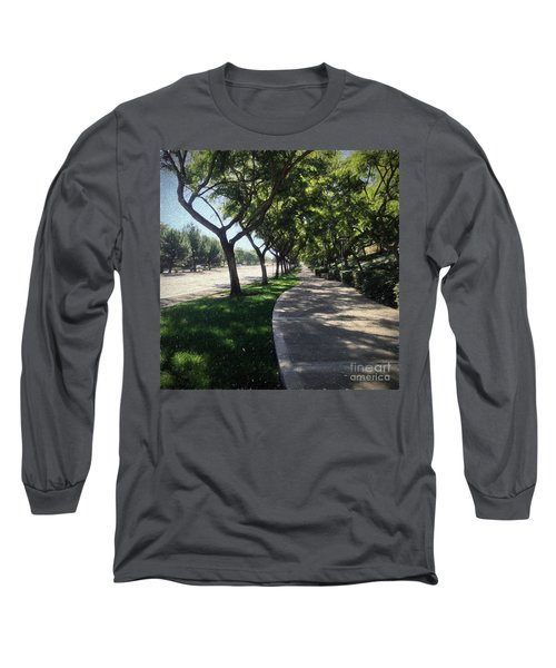 Sidewalk Counseling Long Sleeve T-Shirt by Sharon Soberon