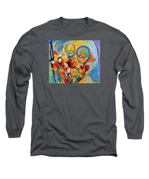 Sidewalk Stille-life Long Sleeve T-Shirt