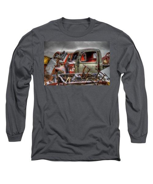 Sideways Long Sleeve T-Shirt