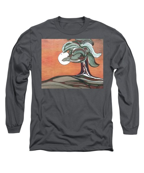 Sienna Skies Long Sleeve T-Shirt by Pat Purdy