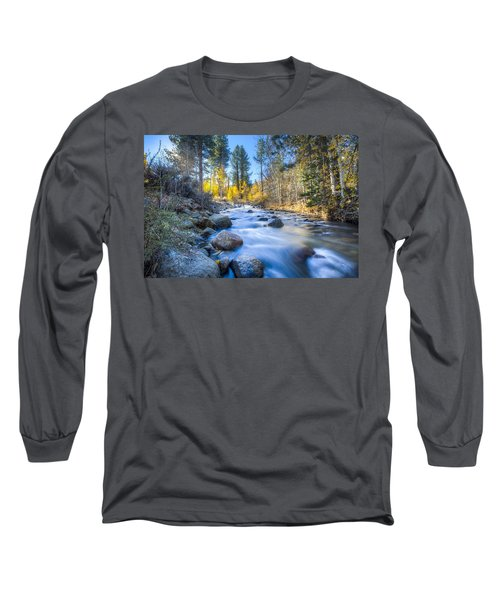 Sierra Mountain Stream Long Sleeve T-Shirt