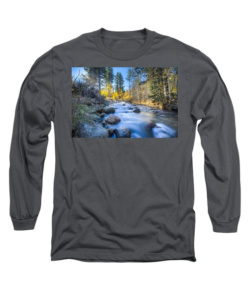 Sierra Mountain Stream Long Sleeve T-Shirt