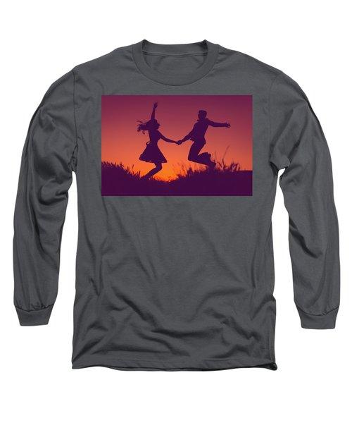 Sierra Sunset Long Sleeve T-Shirt