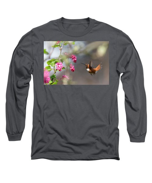 Sign Of Spring 3 Long Sleeve T-Shirt by Randy Hall