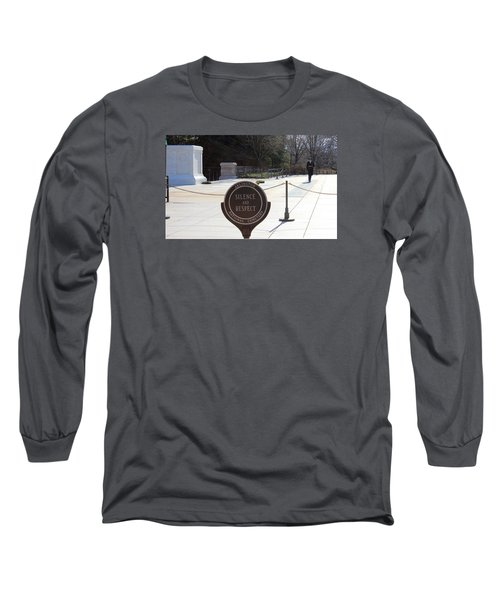 Silence Long Sleeve T-Shirt