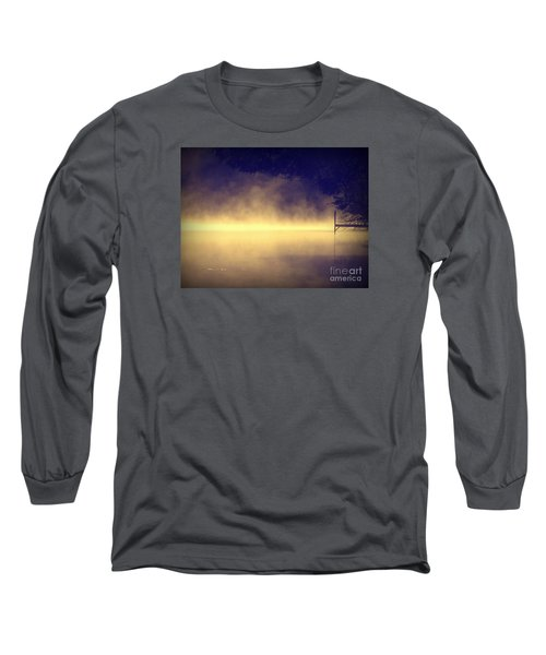 Long Sleeve T-Shirt featuring the photograph Silent Lake by France Laliberte