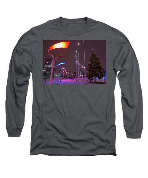 Long Sleeve T-Shirt featuring the photograph Silent Night.. by Nina Stavlund