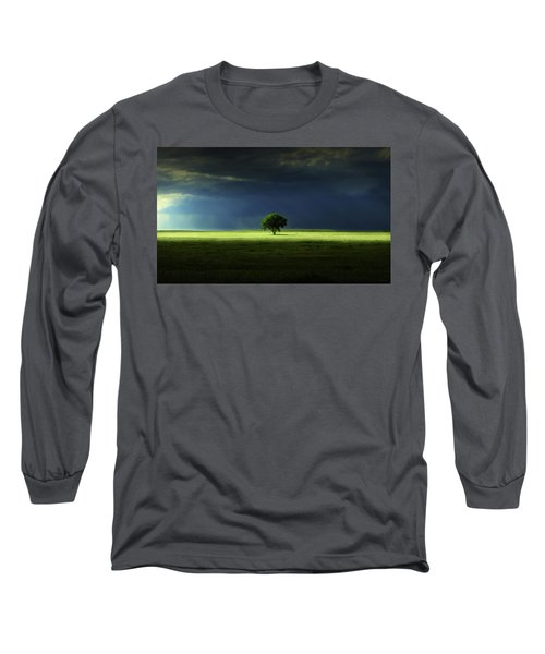 Silent Solitude Long Sleeve T-Shirt